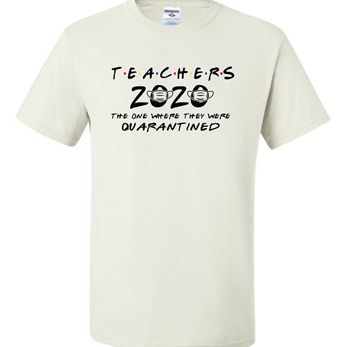 """Teachers 2020"" Short Sleeve Tee"