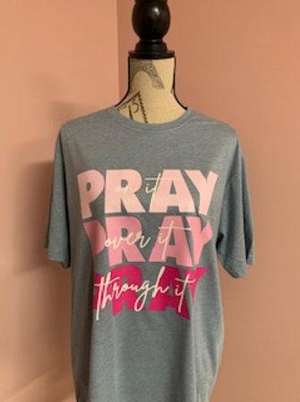 """Pray"" Short Sleeve Tee"