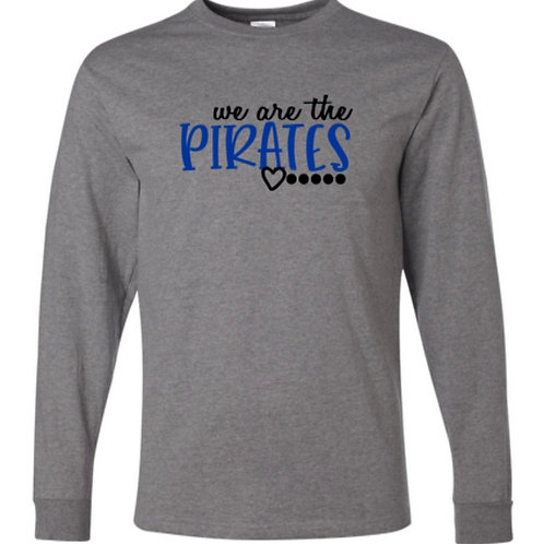 """We Are the Pirates"" Youth Long Sleeve Tee"