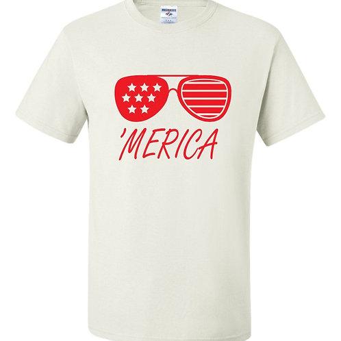 """'Merica"" Short Sleeve Tee"