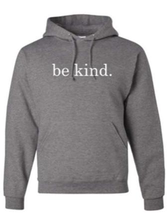 """Be Kind"" Youth Hooded Sweatshirt"