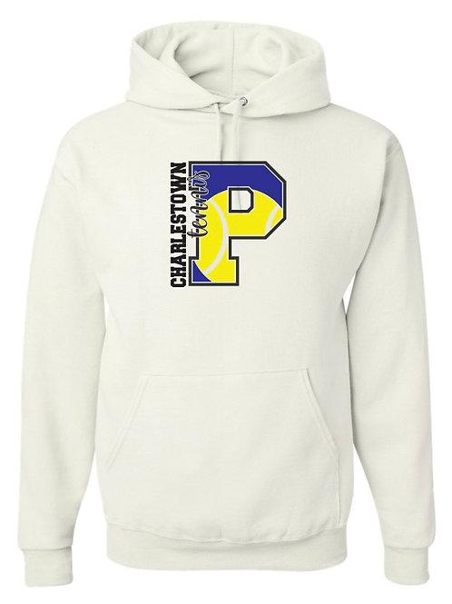 """""""Charlestown Tennis"""" Hooded Sweatshirt"""