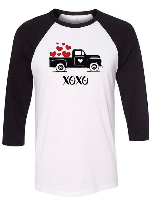 """""""XOXO"""" Baseball Tee"""