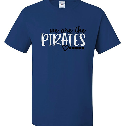 """We Are the Pirates"" Youth Short Sleeve Tee"