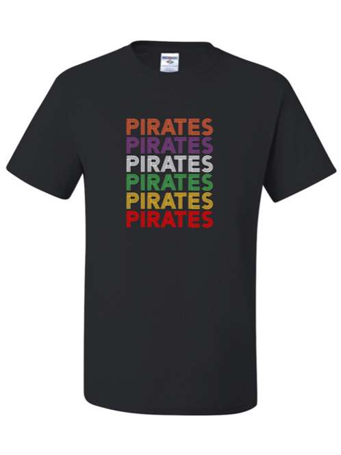 """Pirates Repeat"" Youth Short Sleeve Tee"