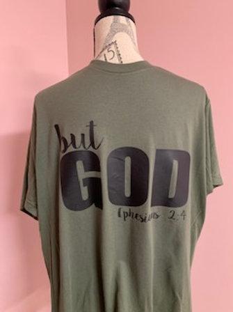 """""""But God"""" Short Sleeve Tee"""