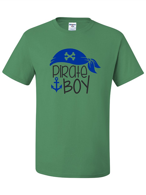 """Pirate Boy"" Adult Short Sleeve Tee"
