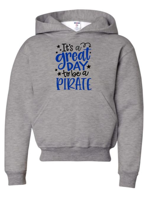 """Great Day"" Adult Hooded Sweatshirt"