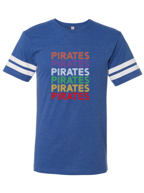 """""""Pirates"""" Repeat Youth Football Jersey Tee"""