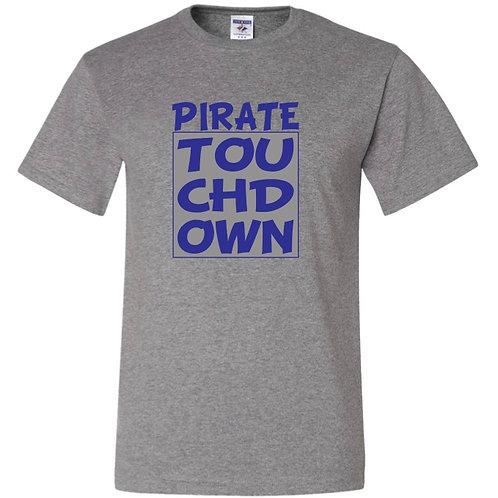 """Pirate Touchdown"" Short Sleeve Tee"