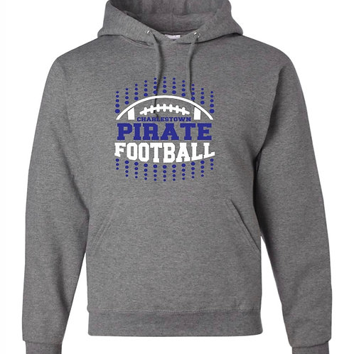 """Pirate Football"" Hooded Sweatshirt"