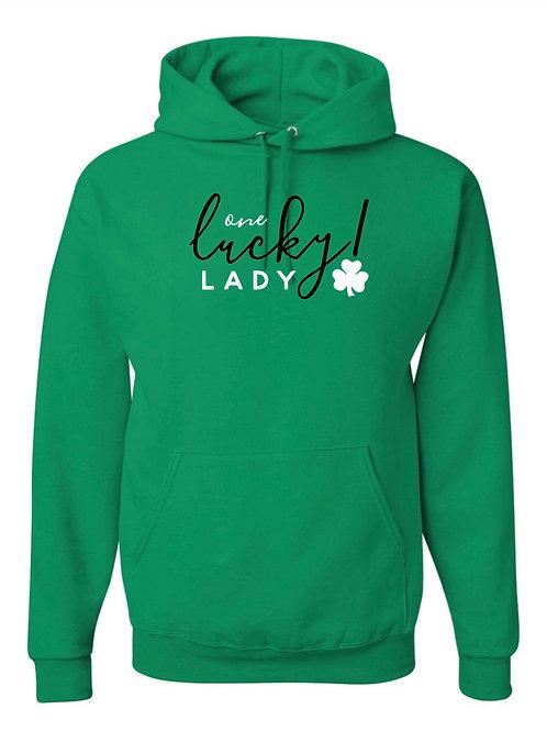 """""""Lucky Lady"""" Hooded Sweatshirt"""