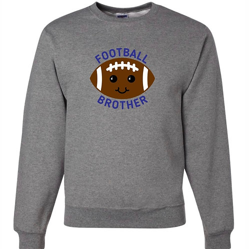 """Football Brother"" Crewneck Sweatshirt"