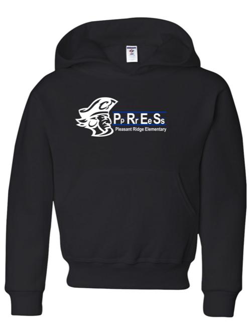 """P.R.E.S."" Adult Hooded Sweatshirt"