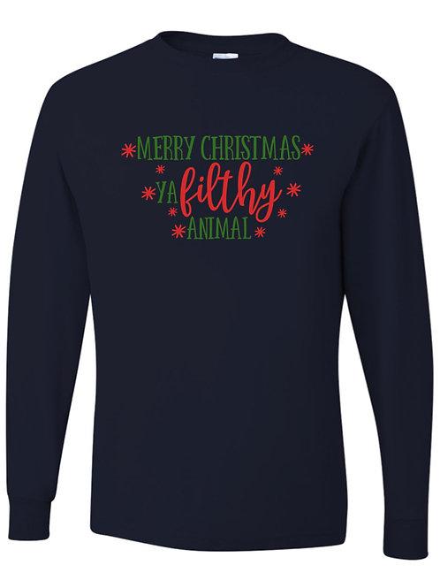 """""""Merry Christmas Ya Filthy Animal"""""""