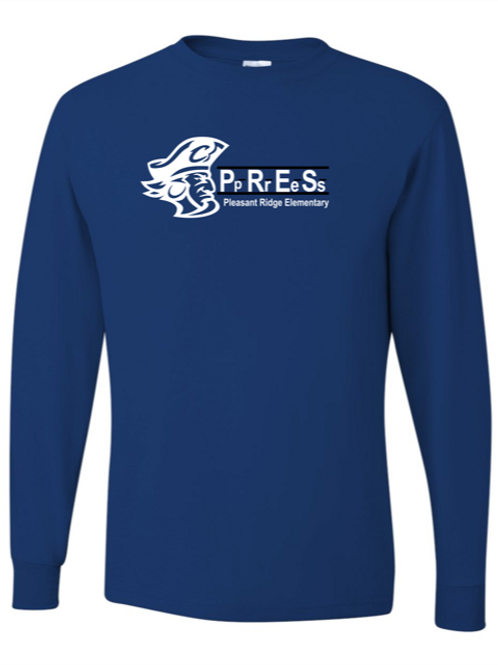"""P.R.E.S."" Youth Long Sleeve Tee"