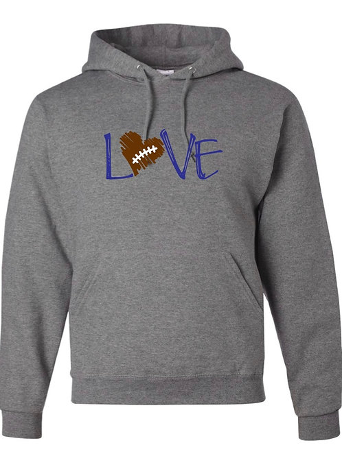 """Love"" Hooded Sweatshirt"