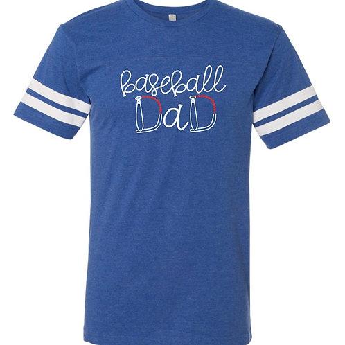 """""""Baseball Dad"""" Jersey Tee"""