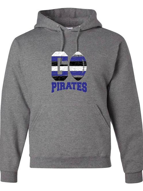 """Go Pirates"" Hooded Sweatshirt"