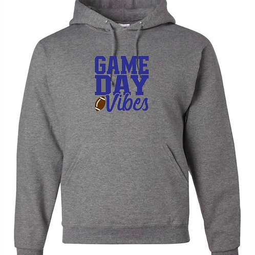 """Game Day Vibes"" Hooded Sweatshirt"