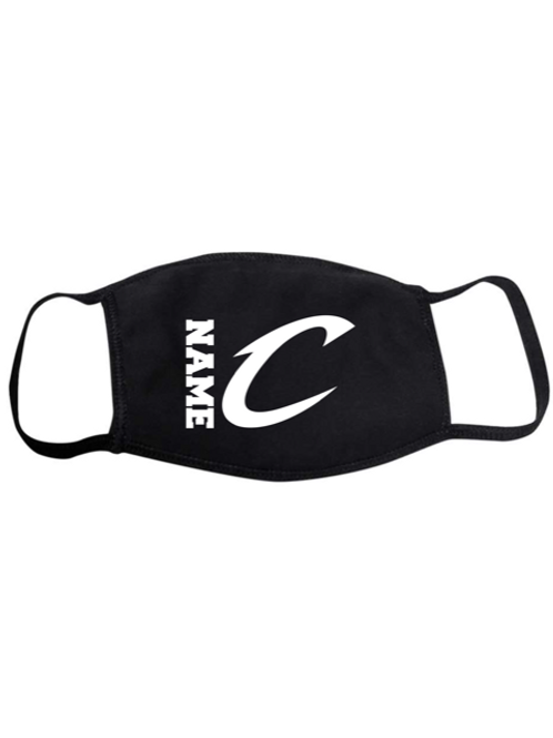 "Personalized ""C"" Adult Face Mask"