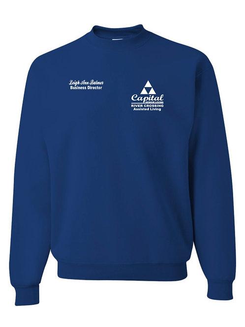 """""""River Crossing"""" Crewneck Sweatshirt"""