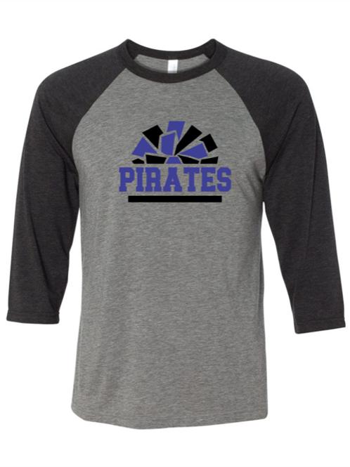 """Pirates Pom Pom"" Youth Baseball Tee"