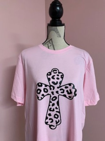 """""""Cross"""" Short Sleeve Tee"""
