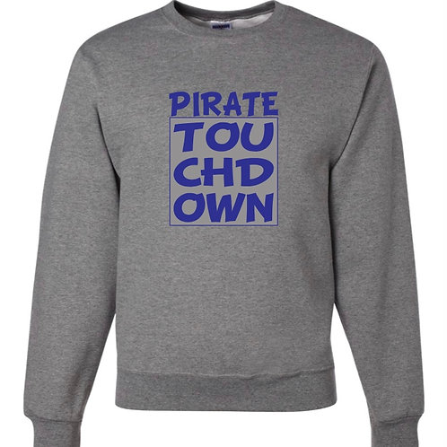 """""""Pirate Touchdown"""" Crewneck Sweatshirt"""
