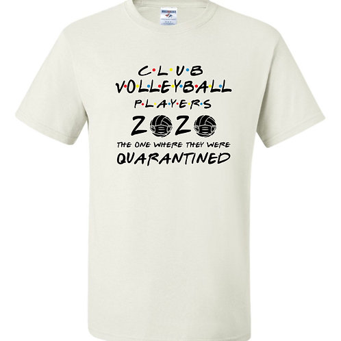 """""""Volleyball Players"""" Short Sleeve Tee"""