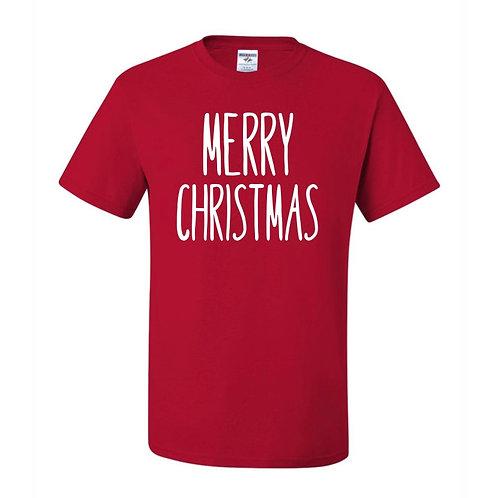 """Merry Christmas"" Youth Short Sleeve Tee"