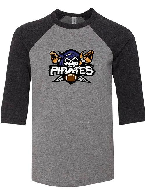 """Pirates"" Baseball Tee"