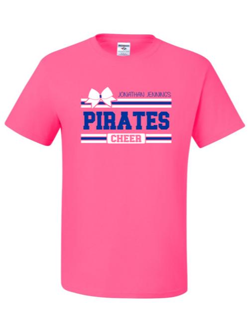 """Pirates Cheer"" Youth Short Sleeve Tee"