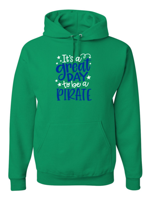 """""""Great Day"""" Youth Hooded Sweatshirt"""