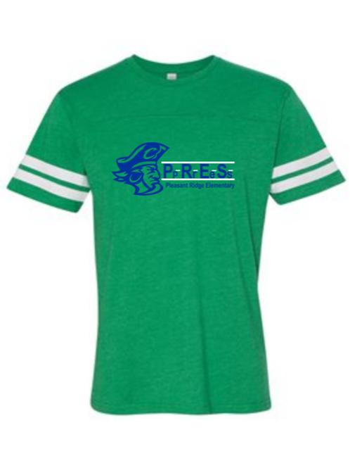 """P.R.E.S."" Toddler Football Jersey Tee"