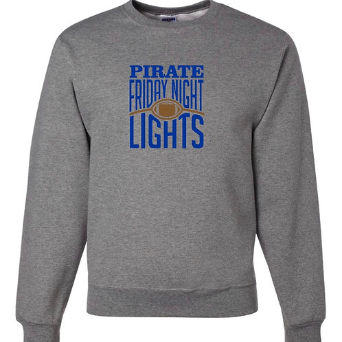 """""""Friday Night Lights"""" Crewneck Sweatshirt"""