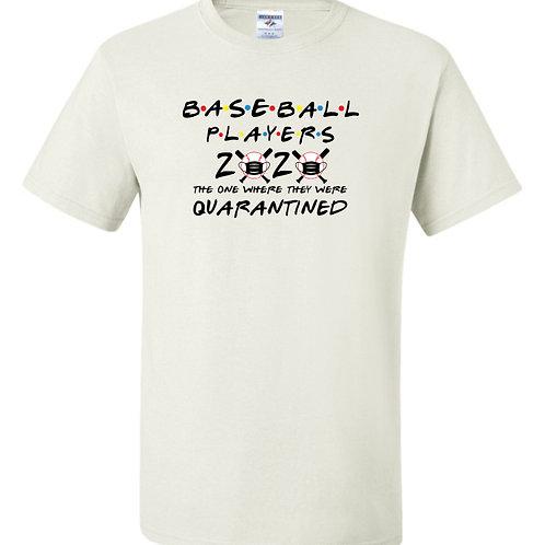 """Baseball Players"" Short Sleeve Tee"