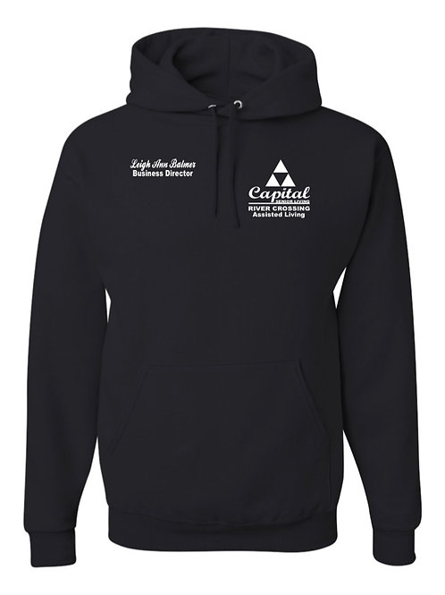 """River Crossing"" Hooded Sweatshirt"