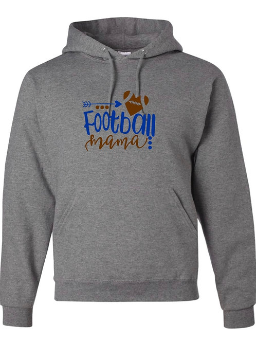 """Football Mama"" Hooded Sweatshirt"