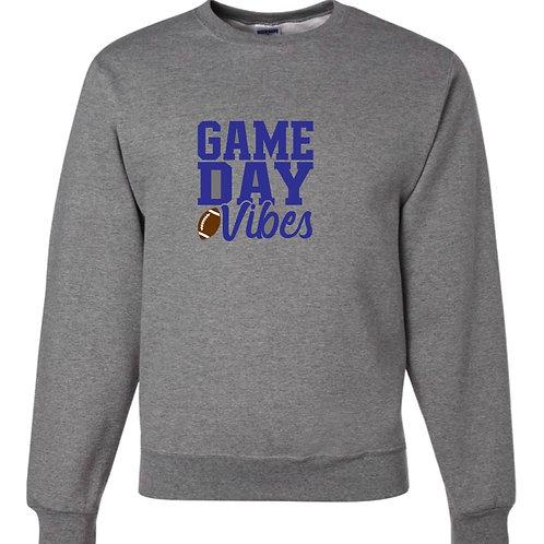 """Game Day Vibes"" Crewneck Sweatshirt"