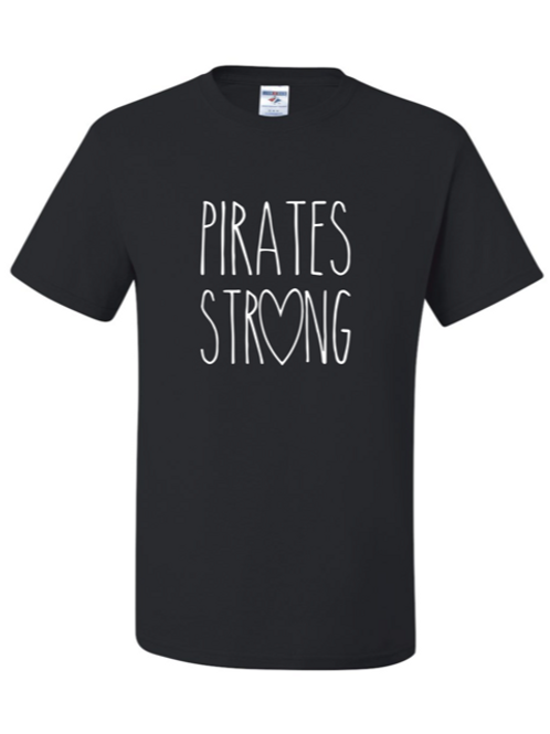 """Pirates Strong"" Youth Short Sleeve Tee"