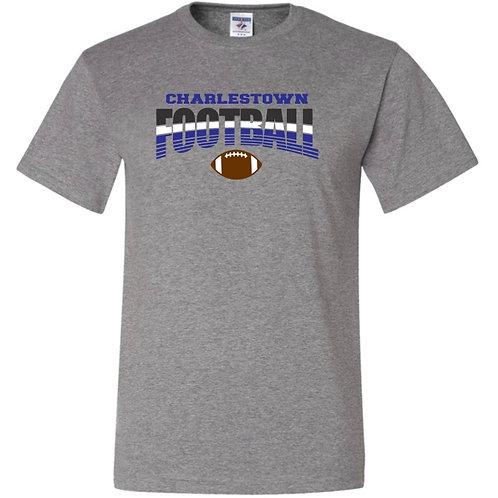 """Charlestown Football"" Short Sleeve Tee"