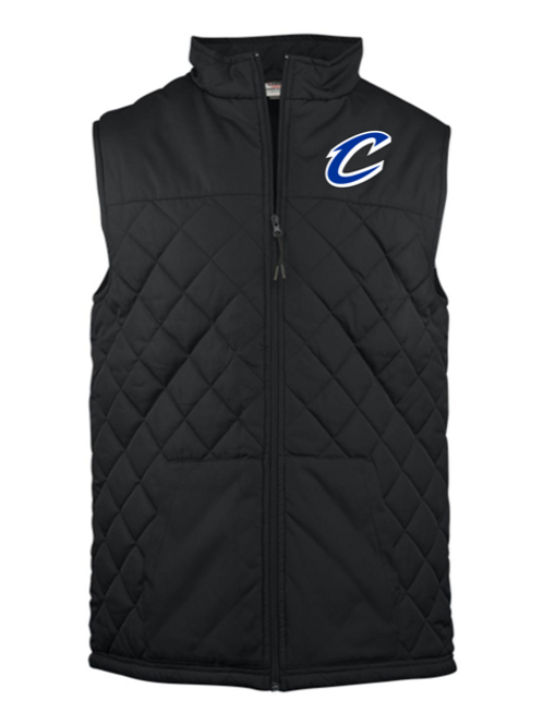 """C"" Logo Youth Embroidered Vest"