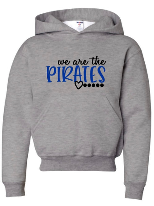 """""""We Are the Pirates"""" Adult Hooded Sweatshirt"""