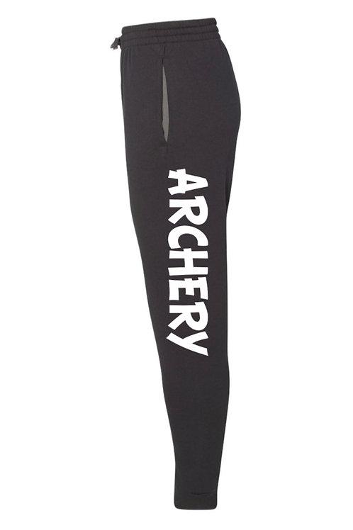 """Archery"" Black Joggers"