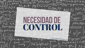 ¿Necesidad de control?