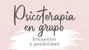 Psicoterapia grupal I - Mayo 2021