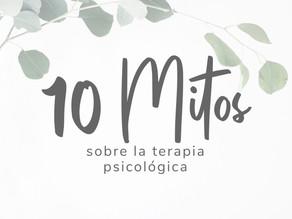 Mitos sobre la terapia psicológica