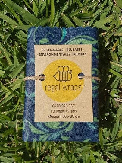 Beeswax Wraps Medium 5 Pack