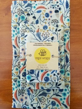 Beeswax Wraps Starter Pack